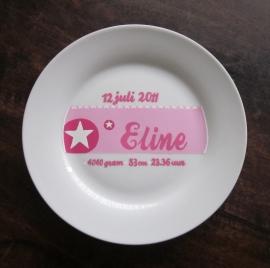 Geboortekaartje Eline
