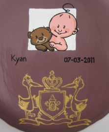 Geboortekaartje Kyan