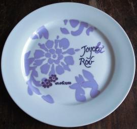 Trouwkaart-bord Rob & Joyce