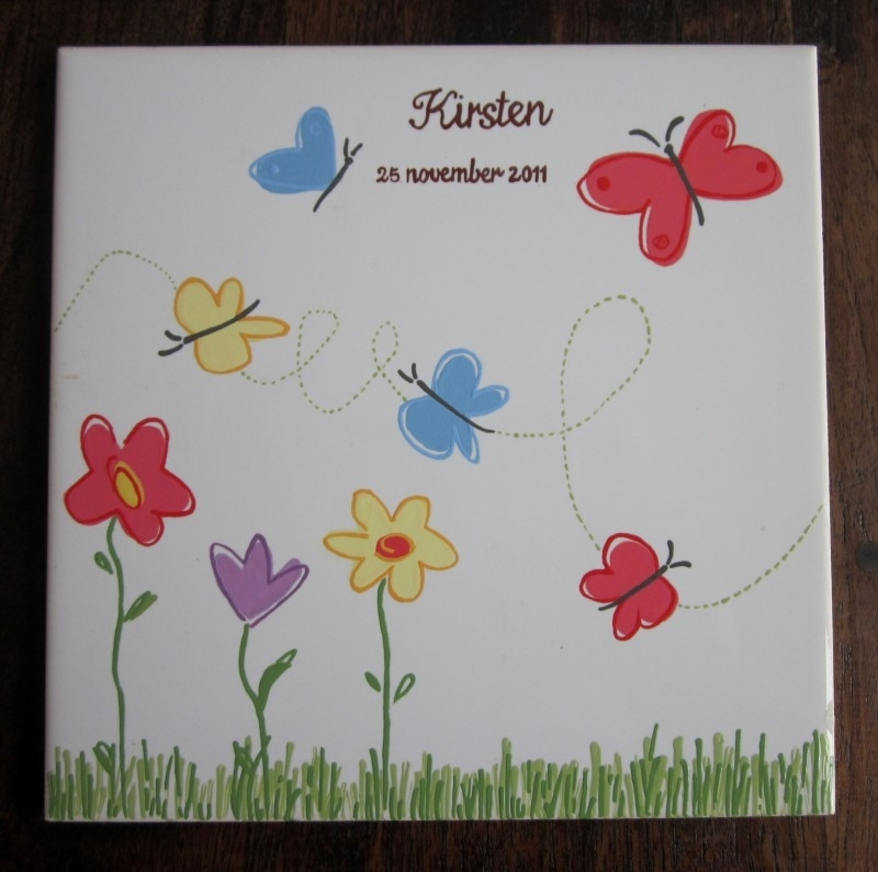 Geboorte-tegel Kirsten