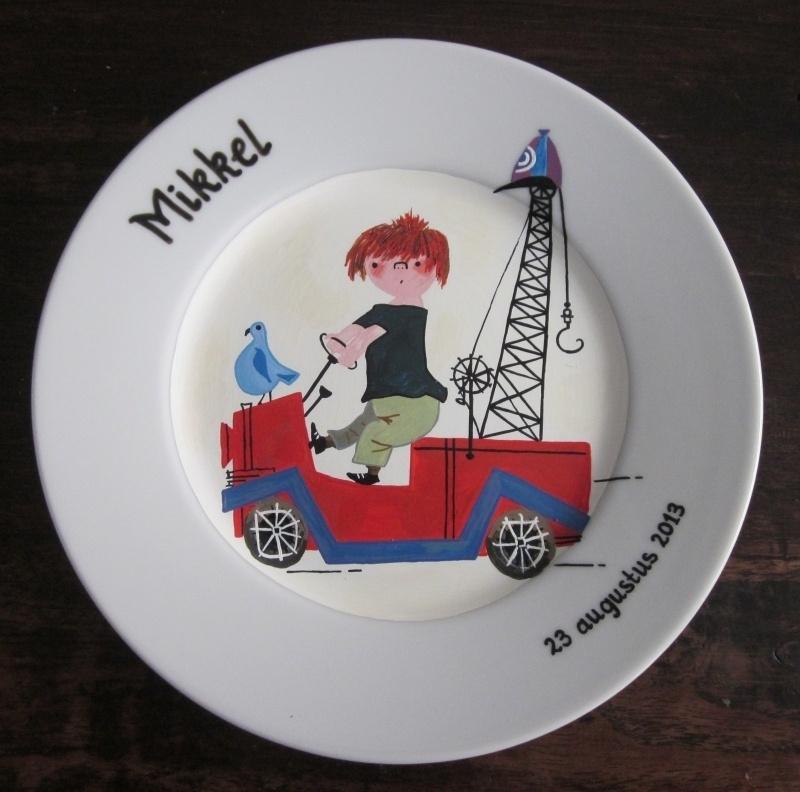 Kinderbord Mikkel
