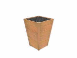 Plantenbak hardhout Sevilla Taps 60x60x85