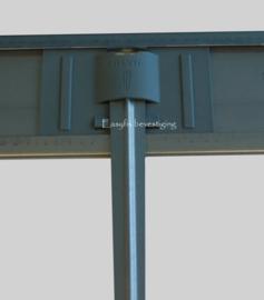 14,4 meter Easyfix LI Zwart gecoat borderrand 150mm hoog va. € 16,91 /m.