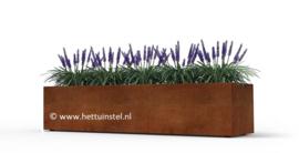 Cortenstaal plantenbak 100x80x30cm