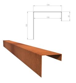 BetonTop Cortenstaal profiel 230x15,4x15cm