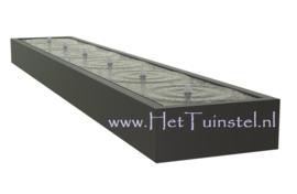 Aluminium Watertafel 600x100x40cm