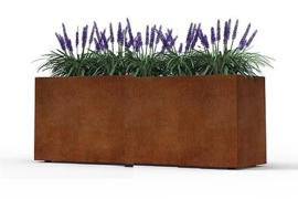 Cortenstaal plantenbak 120x60x60cm