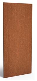 Cortenstaal schuttingdeel / paneel 80x5x180cm