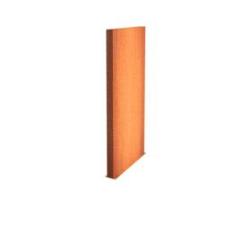 Cortenstaal wand 150x15x200cm