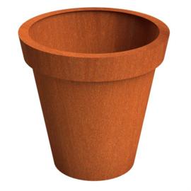 Cortenstaal ST plantenbak Bloempot 1500 x H 1500mm. gratis bezorgd