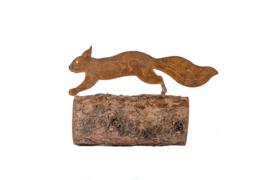Schroefeekhoorn klimmend Iron ecoroest  45 x 12  cm