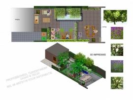 Snel ontwerp 0>200 m² U betaald het verschuldigde bedrag contant aan het einde van de tuinontwerp sessie!