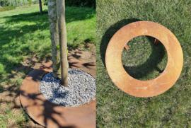 Cortenstaal boomring 50cm