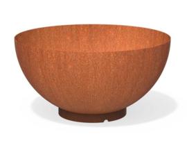Cortenstaal Waterschaal Bocca Ø100x50,5cm