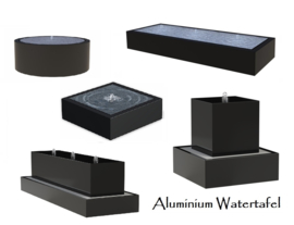 Aluminium watertafel
