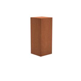 Sokkel Cortenstaal 50x50x120cm