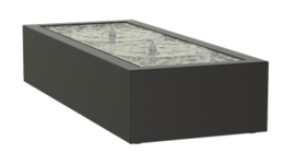Aluminium Watertafel 145x80x40cm