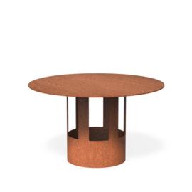 Cortenstaal regenkap Ø15,4x21,5cm