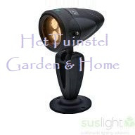 Spot LED Spot Sus Big Tops Zwart 24V 3.6Watt
