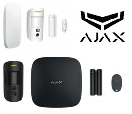 Ajax starterskit hub2 motioncam zwart of wit