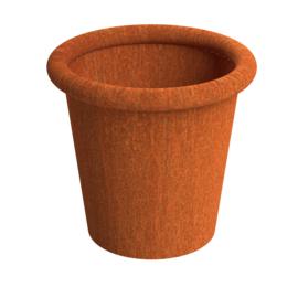 Cortenstalen plantenbak model Tube  ST 700xH600mm. Gratis bezorgd.