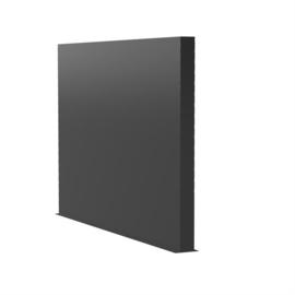 Aluminium wand 300x15x200cm
