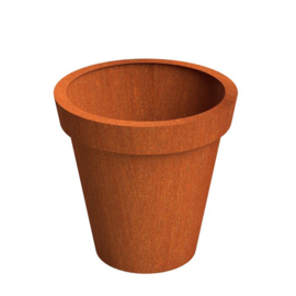 Cortenstaal plantenbak Bloempot 1200 x H 1200mm. Wordt gratis bezorgd