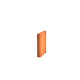 Cortenstaal wand 100x15x100cm