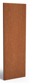 Cortenstaal schuttingdeel / paneel 60x5x180cm