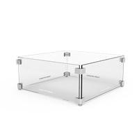 Glazen ombouw BRANN 40x40