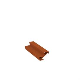 Cortenstaal trap 2 treden L1500xB480xH340mm. Gratis bezorgd.