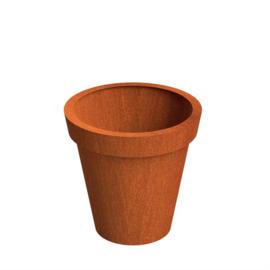 Cortenstaal plantenbak 80x80cm