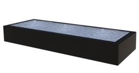 Aluminium ST watertafel, 3 fonteinen 3000x1000x400 mm. Gratis bezorgd.