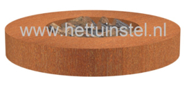 Cortenstaal ST vuurtafel 1750xH280mm