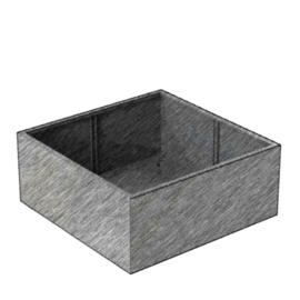 Aluminium Plantenbak