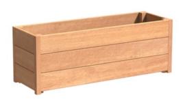 Plantenbak hardhout Sevilla 120x40x44cm