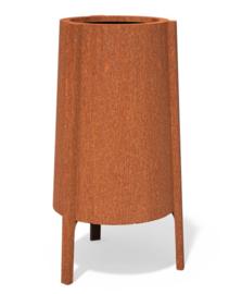 Cortenstaal plantenbak Botan 50x120cm 3 mm.