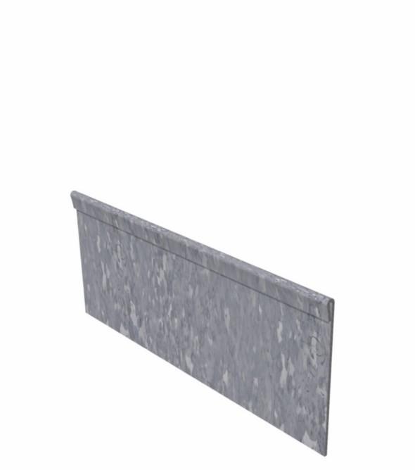 25 st. Kantopsluiting Verzinkt staal geplet 2300 x 3 x 200 mm.
