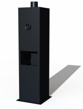 Gecoat tuinhaard Borr 50x50x200cm