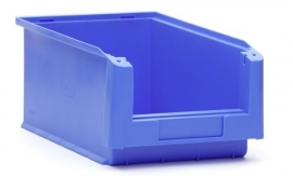 SLK4-5015 | Kunststof magazijnbak 35x21x15 cm (lxbxh), blauw, gewicht 413 g