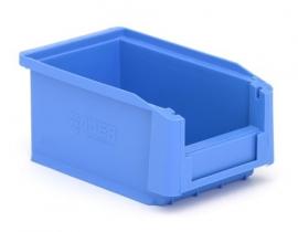 SLK2-5015 | Kunststof magazijnbak 16x10x7,5 cm (lxbxh), blauw, gewicht 67 g