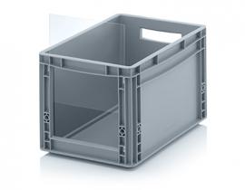 ES4327 | QUALITY BOX insteekbaar zichtvenster geschikt voor Eurobak SLK4327, afm. 22,8x24x0,3 cm, acrylglas, kleurloos, gewicht 192 gr