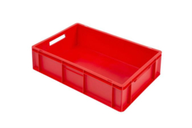 PB6417EC | PLASTIBAC eurobak gesloten uitvoering, afm. 600x400x170 mm (lxbxh), handgrepen open, stapelbaar,  inhoud 33l, gewicht 1,70  kg