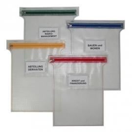 08270 | PROMAIL platte interne posttas met ritssluiting in kleur, materiaal PVC gecoat netwerk