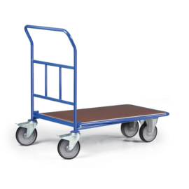 111316 | ROTAURO CC-wagen met duwbeugel, laadvlak afm. 1200x800 mm (lxb), draagvermogen 300 kg