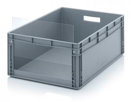 ES8632 | AUER insteekbaar zichtvenster geschikt voor Eurobak SLK8632, afm. 50,1x29x0,3 cm, acrylglas, kleurloos