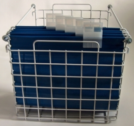 20020020 | PROMAIL posthangmappen (set van 5 geschakelde mappen), PVC gecoat nylon, incl. metalen ophanghaken en transparante kunststof labelhouders