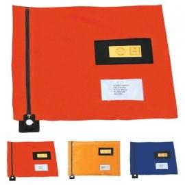08241 | PROMAIL postverzendtas plat, rits aan korte zijde met of zonder verzegelmogelijkheid