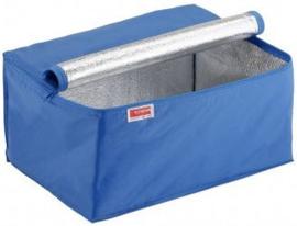 95009460 | SUNWARE koeltas t.b.v. SUNWARE Square vouwkratten 32 liter, afm. 490x360x250 mm (lxbxh), aluminium voering, sterke nylon rits