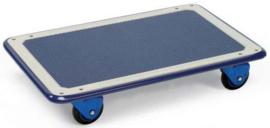 5121100 | PRESTAR basis-platformwagen, stalenplaat laadvlak met anti-slipbekleding, afm. 740x480x140 mm (lxbxh), draagvermogen 150 kg, gewicht 12,3 kg